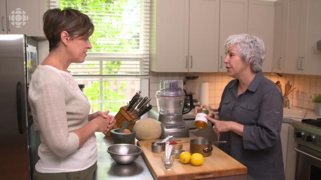 Josée Robitaille à L'Épicerie sur Radio-Canada avec Merveilles d'abeilles pour Granite cantaloup et miel d'été S17E45 2019-08-07