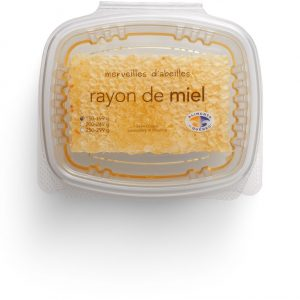 Rayon de miel 150g gâteau Québec Merveilles d'abeilles top