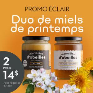 Promo Duo Miels de printemps