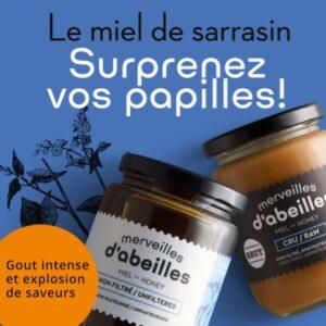 Miel de sarrasin du Québec